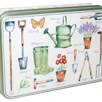 Embossed Garden Tin 150g 6st