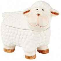 Ceramic Woolly The Sheep 100g 6st