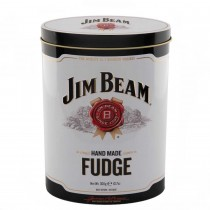 Jim Beam Bourbon Whiskey Fudge Tin 300gr