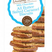 Biscuits All Butter Milk Chocolate Salted Caramel 150g 12st