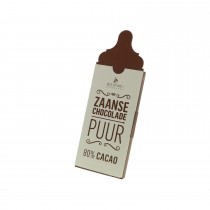 Zaanse chocolade - Puur 80% Cacao