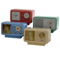 Nostalgic Clock Radio Tin 210g 8st