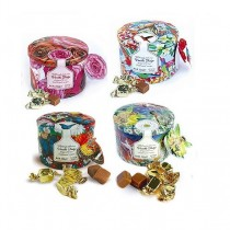 Assorted vanilla fudge tins 200gr