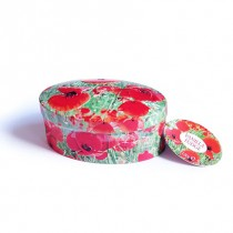 Poppy tin vanille Fudge 120gr