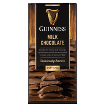 Guinness 90 gram milk chocolate bar