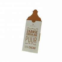 Zaanse chocolade - Puur 55% Cacao